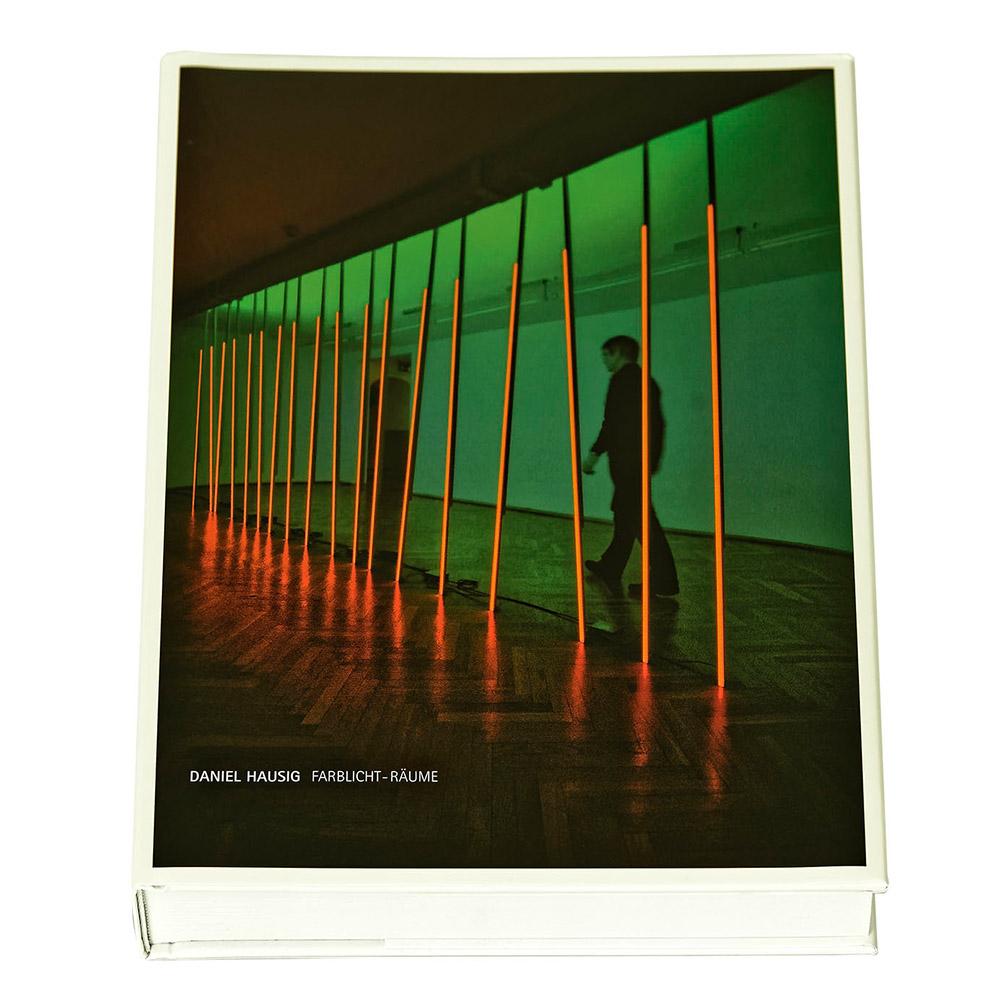 Daniel Hausig: Farblicht Räume Katalog